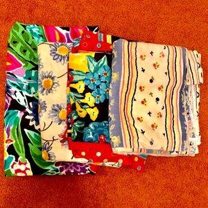 🌴🌺 Bundle of Fabrics! 4 Fabrics with many yards!